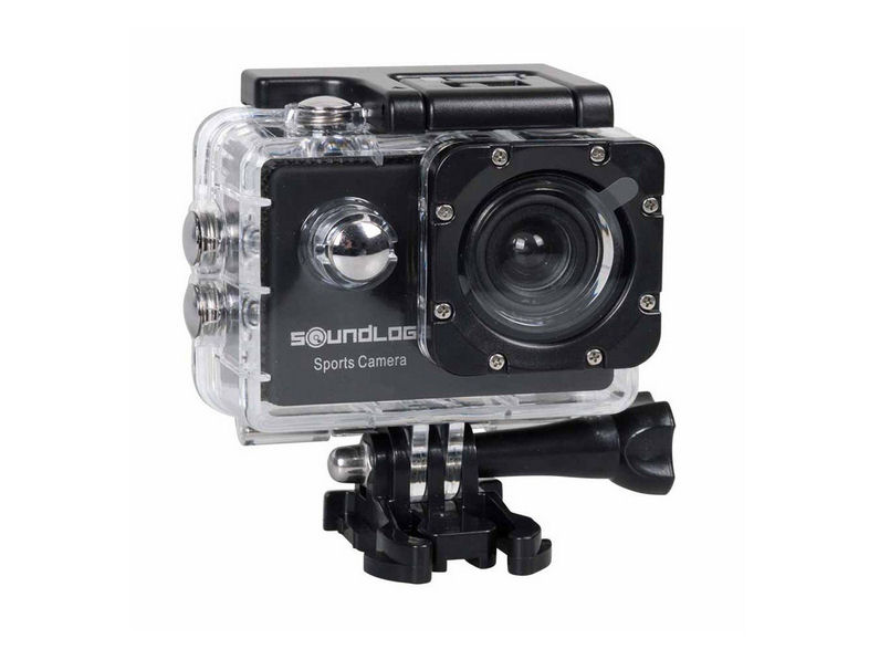 Sport Macchina fotografica Action Cam HD 12MP impermeabile Actioncam da elmetto