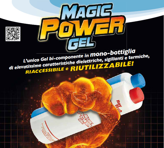 MAGIC POWER GEL MONOBOTTIGLIA DA 1 LT